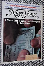 1970 New York Magazine, CLASSIC CORRUPTION, Sex Fashion, Gloria Steinem, Wine