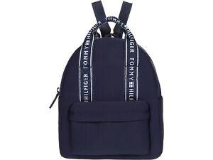 Tommy Hilfiger Women Navy Elyse II Medium Neoprene Backpack NWT MSRP 98$+TAX