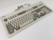 Vintage Epson Q203A Computer Keyboard (semi mechanical Peer) IBM AT