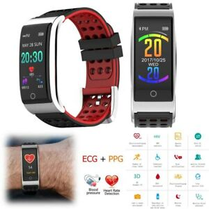 Smart Watch ECG+PPG Heart Rate Health Bracelet Call/Message Reminder Touchscreen
