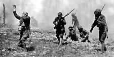 6x4 Gloss Photo ww1CB7 World War 1 Americans Gas Warfare Front Line Gas Masks