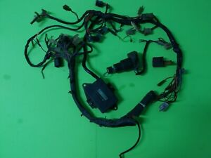 Yamaha TZR 250 TZR250 1KT WIRING LOOM + CDI WITH MOUNTING BRACKET + MAIN SWITCH