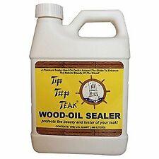 Sudbury Tip Top Teak Wood Oil Sealer Protects Teak/Other Woods Quart Ts1001
