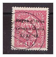 VENEZIA GIULIA 1918 - 1  CORONA     USATO