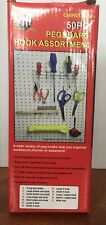 150 Peg Board Hook Organizers Set Pegboard/shelf