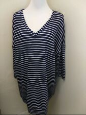 Isabel Maternity Oversized Striped Sweater XXl Excellent Condition