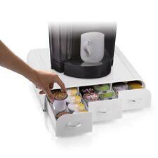 Coffee Pod Holder 36 K Cup Storage Rack Cups Drawer Organizer Keurig WHITE NEW