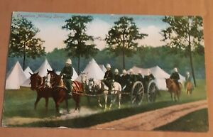 1907 Canadian Field Artillery, Canadian Military Series, Unused Postcard