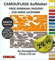 Camouflage Aufkleber  Tarnmuster Stealth Fighter Auto Stockcar Flecktarn Deko #3