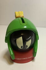 Marvin the Martian Warner Bros 1997 Cake Topper Piggy Bank Decopac