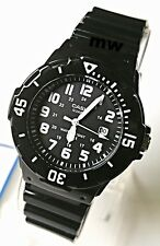 Latest Casio Women's Watch Analog Sports Date Black Dial Resin 100M LRW-200H-1B