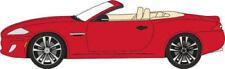 Véhicules miniatures rouge moulé sous pression pour Jaguar