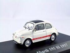 FIAT ABARTH 595 SS 1957 Bianco/IXO/Atlas 1:43