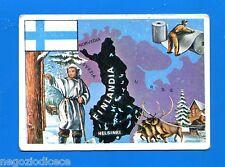 LA TERRA - Panini 1966 - Figurina-Sticker n. 151 - FINLANDIA -New