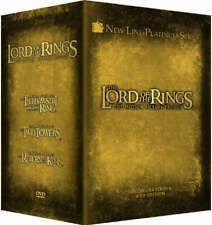 LORD OF THE RINGS THE MOTION PICTURE TRILOGY Extended DVD Box Set R4 12 Disc New