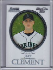 2005 BOWMAN STERLING #BS-JC JEFF CLEMENT ROOKIE RC SEATTLE MARINERS