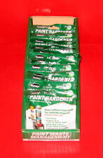 LOT OF 12 HOMAX PAINT HARDENER 1.3OZ TURNS LEFTOVER PAINT SOLID FOR DISPOSAL