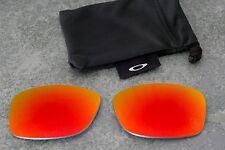 Original Oakley Jupiter Squared Polarized Ruby Iridium Lenses - Ferrari Scuderia
