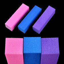 2x Sanding Files Buffers Blocks Manicure Pedicure UV Gel Nail Art Tools
