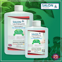 Salon Ultimate 100% Pure Acetone Nail Gel Polish Remover UV/LED GEL Soak Off UK!