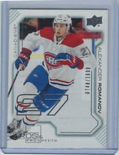 2020-21 Upper Deck Extended series Pros and Prospects Alexander Romanov #/1000