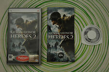 Medal of honor heroes 2 platinum Psp pal