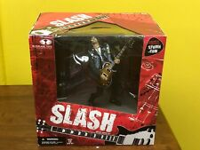SLASH DELUXE BOX SET - McFARLANE TOYS FIGURE - 2005 New In Box - Guns N Roses