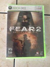 Xbox360 FEAR 2 Project Origin NEW