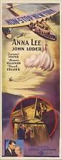 NON-STOP NEW YORK Movie POSTER 14x36 Insert Anna Lee John Loder Francis L.