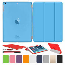 NUOVO SMART STAND CUSTODIA COVER in pelle per Apple iPad 2 3 4 Mini Air 1 2 PRO