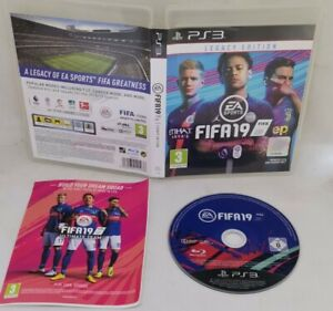 FIFA 19 Playstation 3 Legacy Edition VGC Fast Free Tracked Postage