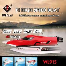 Original WLtoys WL915 2.4Ghz 2CH Brushless High Speed RC F1 Racing Boat Pop F4X4