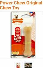 2 Nylabone essential Power Chew Long LASTING Original Chew Toy {Natural Instinct