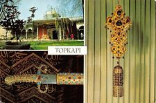 Turkey Istanbul Topkapi Palace Golden Braces set with rubies and Emeralds