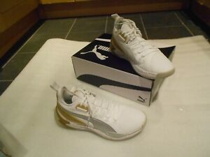 PUMA UPROAR CORE PLAY TRAINERS , BOXED - UK SIZE 11-USED , IN A GOOD CONDITION