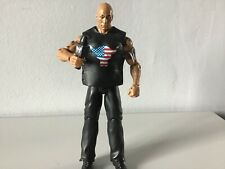 WWF WWE Wrestling DWAYNE JOHNSON THE ROCK  with vest And Microphone Rare