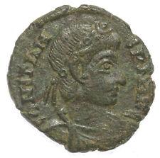 ROMAN BRONZE COIN FOLLIS (NUMMUS) CONSTANS TWO VICTORIES SISCIA AE16 1,44g