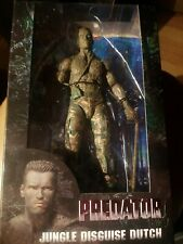 "NECA Predator 30th Anniversary Jungle Disguise Dutch 7"" Figures NEW"