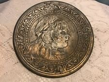 Antique Nicholas Muller And Sons Brass Footed plate Harry 1885