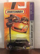Matchbox Range Rover Sport lot (x2) #40 and #50