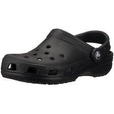 Crocs Homme Classic Cheville Haute Caoutchouc Sandale Noir 16m