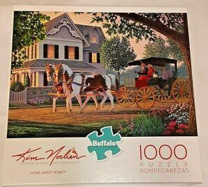 "Buffalo - Kim Norlien ""Home Sweet Home"" 1000 Piece Jigsaw Puzzle New"