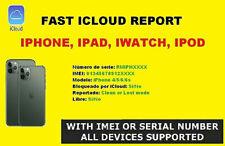 Check iCloud IMEI - iPhone iCloud Status Check FMI Clean / Lost