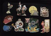 Authentic Disney 24 Pin Lot  LE, OE, CL Pins.