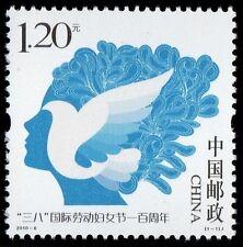 CHINA 2010-6 CENTENIAL INTERNATIONAL WOMEN'S DAY stamp