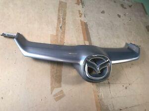 06-07 OEM Mazdaspeed 6 MS6 Upper Bumper Radiator Grill assembly Trim Panel SILVR