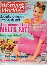 Woman's World Magazine Back Issue July 12, 2005 FREE SHIPPING