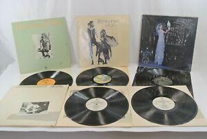 Fleetwood Mac & Stevie Nicks Lot of 4 Records Vinyl LP Tusk Future Rumours Bella