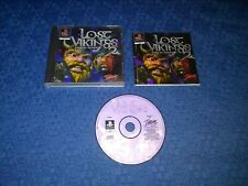 LOST VIKINGS 2 NORSE BY NORSEWEST - GIOCO PLAYSTATION 1 PS1 - PAL - COMPLETO