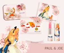 Rare Paul & Joe Alice in Wonderland Disney Pink Lip Treatment & Blotting Set